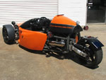 Tri Pod 1 reverse trike - built on Sunshine Coast